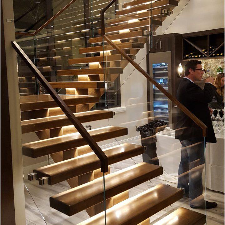 New American Home Stairway Project | Heartland Stairways