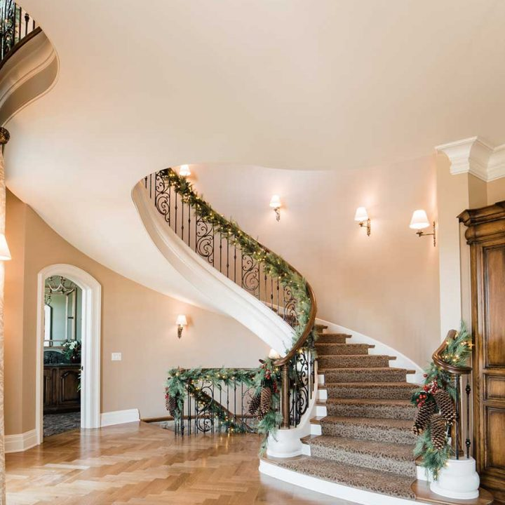 Fallon Curved Project | Heartland Stairways