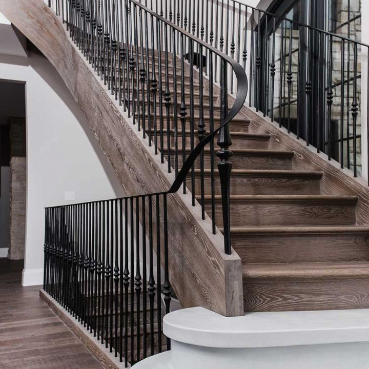 Gio Curve Project | Heartland Stairways