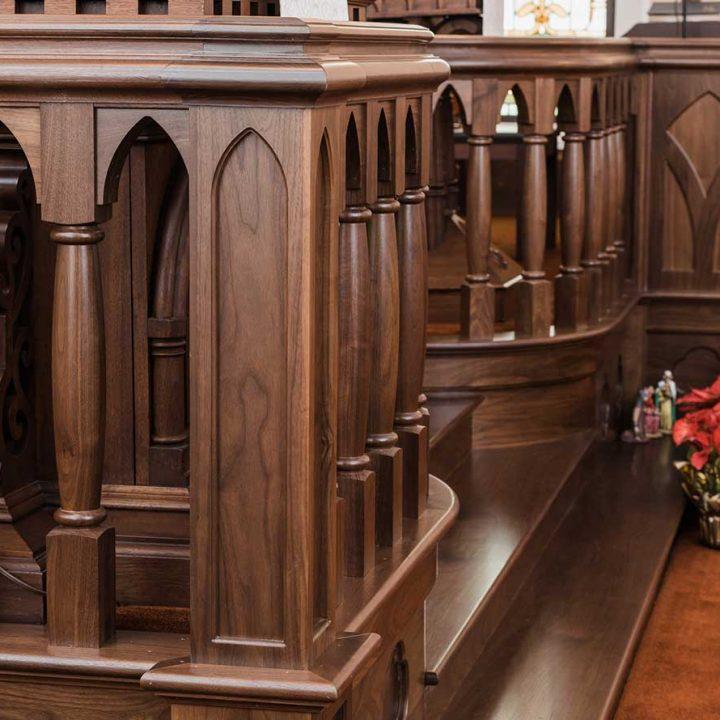 Jewett Church Project | Heartland Stairways