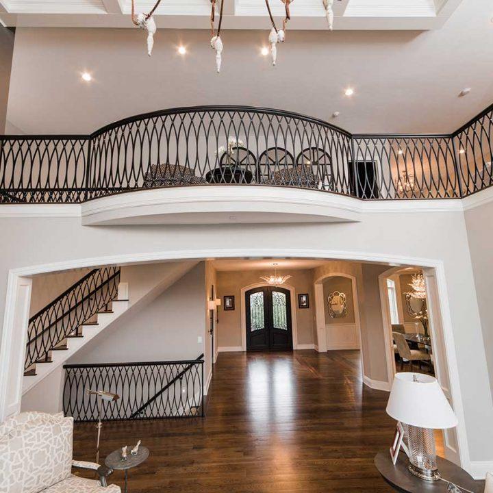 KNL Custom Balustrade Project   Heartland Stairways