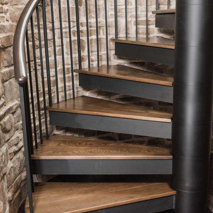 KNL Spiral Project | Heartland Stairways