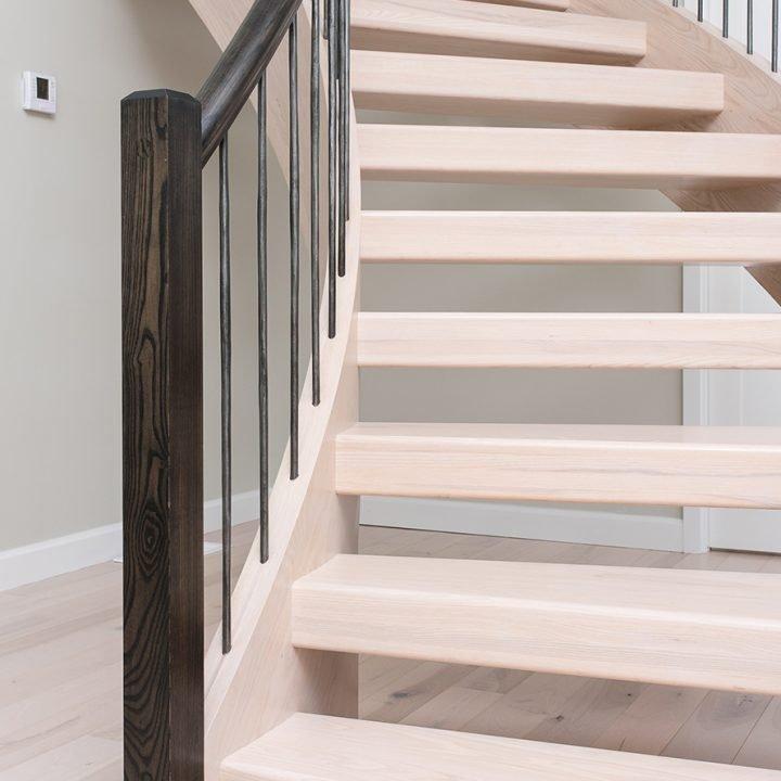 Lee Stairway Project | Heartland Stairways