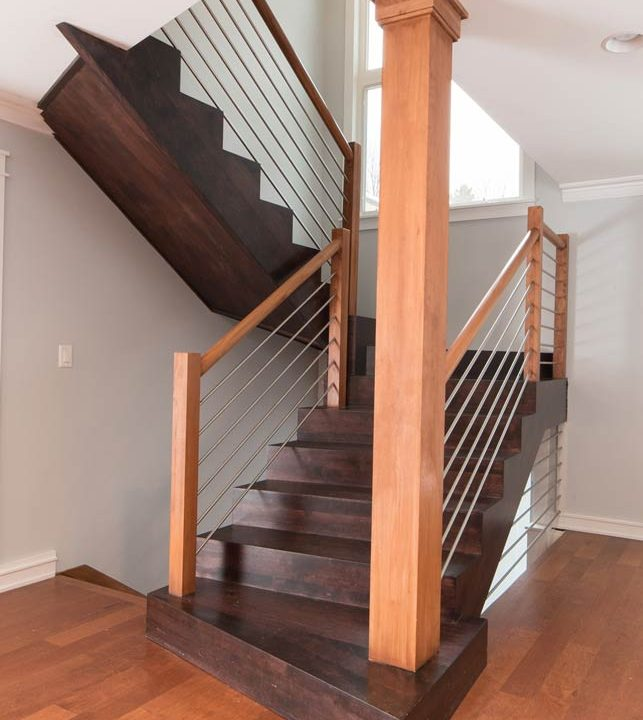 Mcilvaine Stairway Project | Heartland Stairways