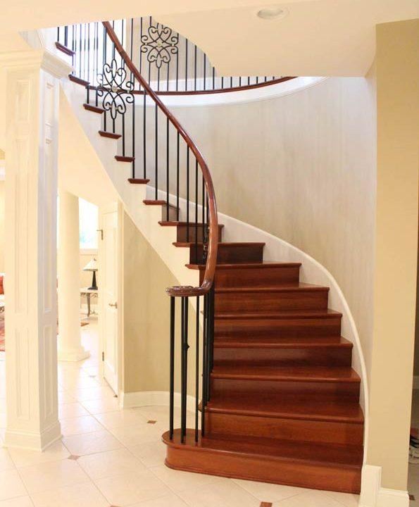 Saha Stairway Project | Heartland Stairways