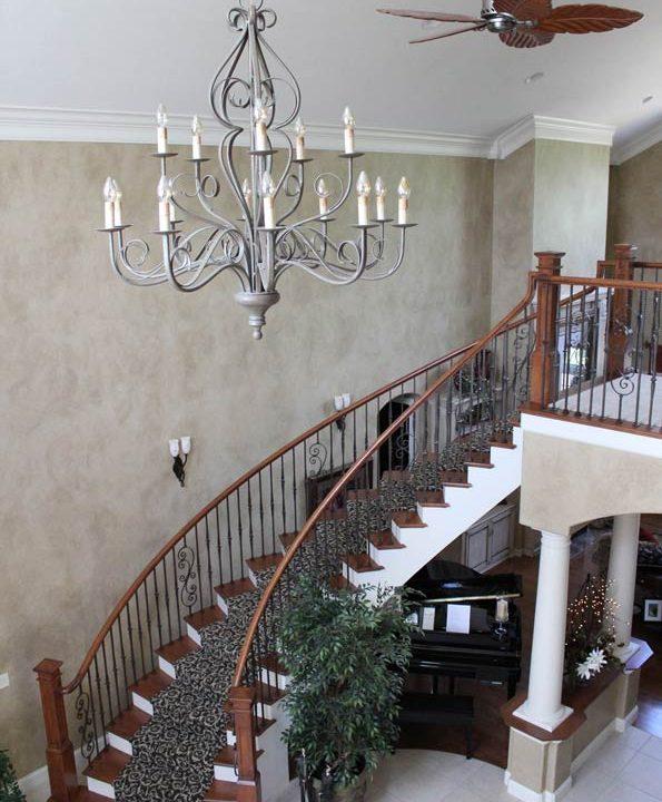 Schlabach Stairway Project | Heartland Stairways