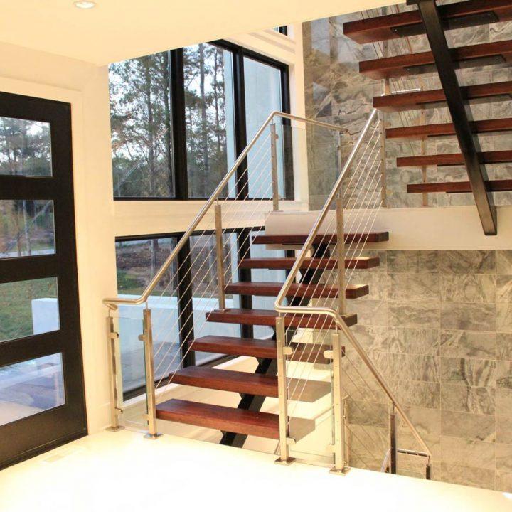 Simms Stairway Project | Heartland Stairways