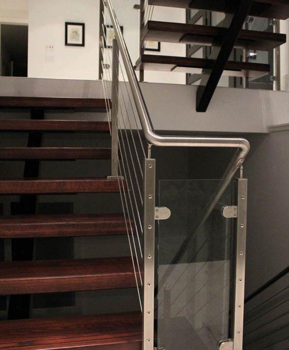 Simms Stairway Project   Heartland Stairways
