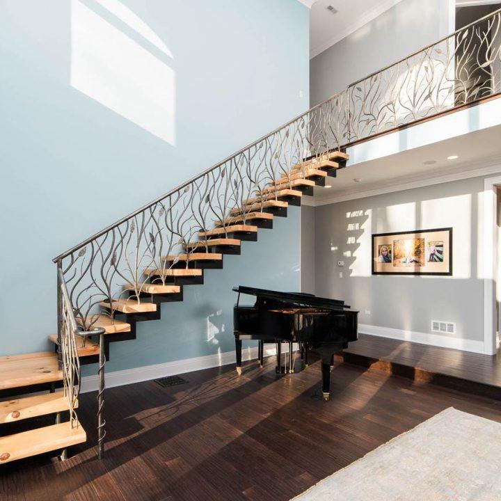Stahl Stairway Project | Heartland Stairways