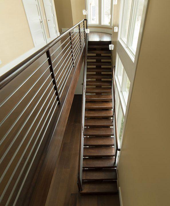 Von Tobel Rear Stairway Project | Heartland Stairways