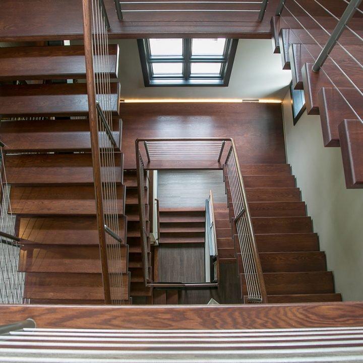 Lowell Cagaan Stairway Project   Heartland Stairways