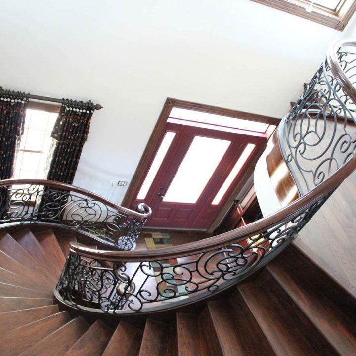 Whittaker Stairway Project | Heartland Stairways