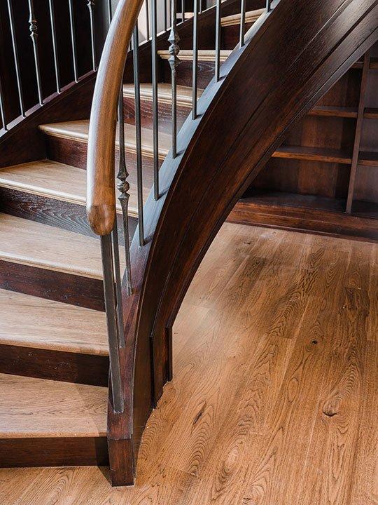 BSD Library Stairway Project   Heartland Stairways