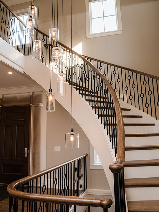BSD Main Stairway Project | Heartland Stairways