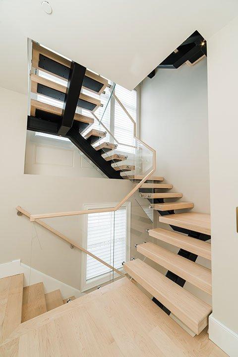 Columbus Brownstone Stairway Project   Heartland Stairways