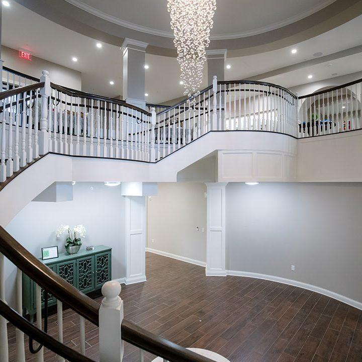 Crown Sorority Stairway Project   Heartland Stairways